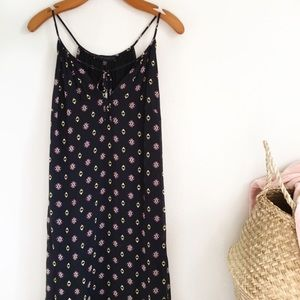 Sanctuary | Tie Neck Printed Maxi Dress